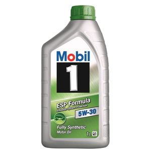Engine Oils and Lubricants, Mobil 1 ESP Formula 5W30 Fully Synthetic Engine Oil. 1 Litre, MOBIL