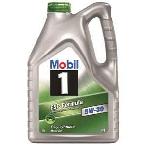 Engine Oils and Lubricants, Mobil 1 ESP Formula 5W30 Fully Synthetic Engine Oil. 5 Litre, MOBIL