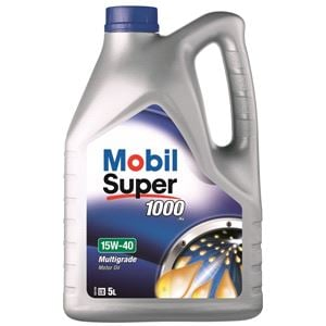 Engine Oils and Lubricants, Mobil Super 1000 X1 15W40 Mineral Engine Oil. 5 Litre, MOBIL