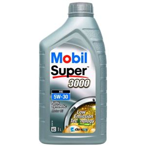 Engine Oils and Lubricants, Mobil Super 3000 XE 5W30 Fully Synthetic Engine Oil. 1 Litre, MOBIL