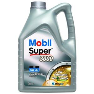Engine Oils and Lubricants, Mobil Super 3000 XE 5W30 Fully Synthetic Engine Oil. 5 Litre, MOBIL