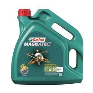 Engine Oils and Lubricants, Castrol Magnatec 10W40 A3/B4 Semi Synthetic Engine Oil. 4 Litre, Castrol