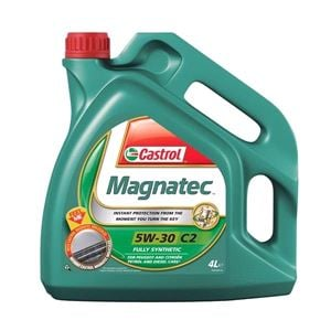 Engine Oils and Lubricants, Castrol Magnatec 5W30 C2 Fully Synthetic Engine Oil. 4 Litre, Castrol