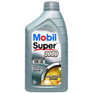 Engine Oils and Lubricants, Mobil Super 3000 Formula P 0W30 Engine Oil. 1 Litre, MOBIL