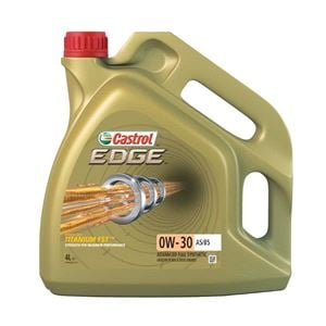 Engine Oils and Lubricants, Castrol Edge 0W30 A5-B5 Titanium FST Fully Synthetic Engine Oil. 4 Litre, Castrol