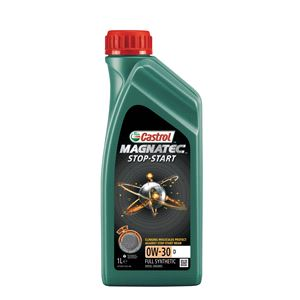 Engine Oils and Lubricants, Castrol Magnatec 0W30 D Stop-Start Fully Synthetic Engine Oil. 1 litre, Castrol