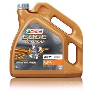 Engine Oils and Lubricants, CASTROL EDGE SuPERCAR 5W-50 Engine Oil 4ltr *, Castrol