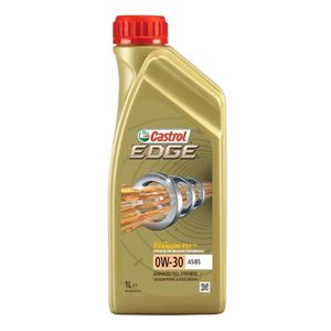 Engine Oils and Lubricants, Castrol Edge 0W30 A5/B5 Titanium FST Fully Synthetic Engine Oil. 1 Litre, Castrol