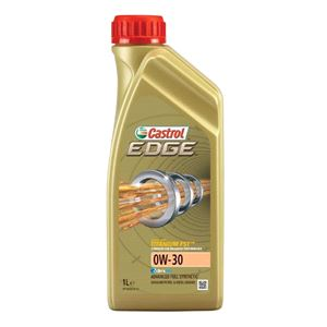 Engine Oils and Lubricants, Castrol Edge 0W30 Titanium FST Fully Synthetic Engine Oil. 1 Litre, Castrol