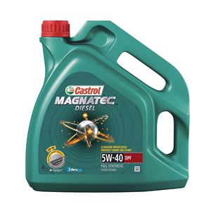 Engine Oils and Lubricants, Castrol Magnatec Diesel 5W-40 Engine Oil DPF 4ltr *, Castrol