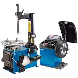 Wheel Balancer, Draper Expert 16235 Tyre Changer and Wheel Balancer Kit, Draper