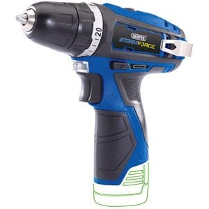 10.8V Power Interchange Range, Draper 17125 Storm Force 10.8V Cordless Rotary Drill - Bare (Battery Available Separately), Draper