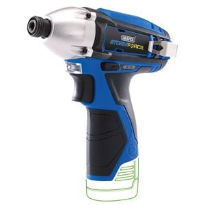 10.8V Power Interchange Range, Draper 17132 Storm Force 10.8V Cordless Impact Driver - Bare (Battery Available Separately), Draper