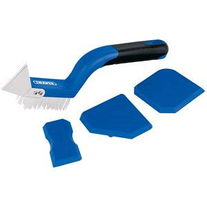 Tile Laying Tools, Draper 17173 Grout Smoothing Set (4 piece), Draper