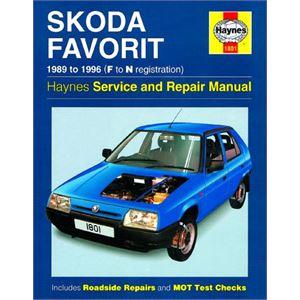 Haynes DIY Workshop Manuals, Skoda Favorit (89-96) Hynes manual , Haynes