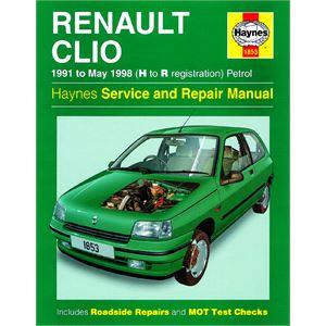 Haynes DIY Workshop Manuals, RENAULT CLIO PETROL, Haynes