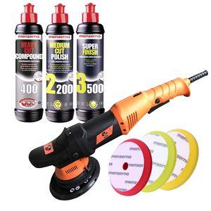 Car Care Kits, Menzerna & 4CR Machine Polishing Kit, Menzerna