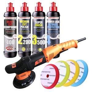 Car Care Kits, Menzerna & 4CR Machine Polish and Seal Kit, Menzerna