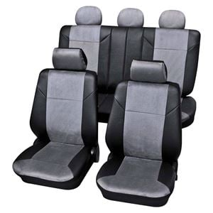 Dark Grey Luxury Car Seat Covers For Ford Fusion 2007 Onwards