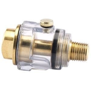 Air Filters, Regulators and Lubricators, Draper 22317 1/4 inch BSP in Line Mini Oiler, Draper
