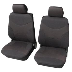 Dark Grey Deluxe Car Seat Covers For Ford Fusion 2002 2012
