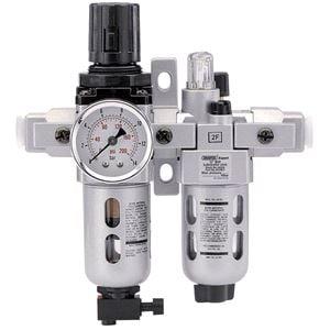 Air Filters, Regulators and Lubricators, Draper Expert 24326 1-4 inch BSP Combined Filter-Regulator-Lubricator unit (FRL), Draper