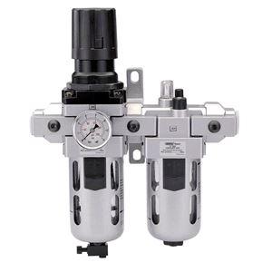 Air Filters, Regulators and Lubricators, Draper Expert 24333 1-2 inch BSP Combined Filter-Regulator-Lubricator, Draper