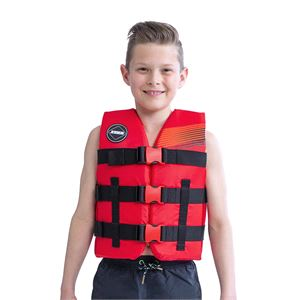 Buoyancy Aids, Jobe Nylon Vest Youth Red, JOBE