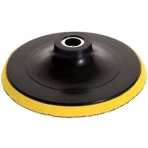 Paint Polish and Wax, Menzerna Backing Plate, Yellow, 150mm, No Holes, M14 attachment, Menzerna