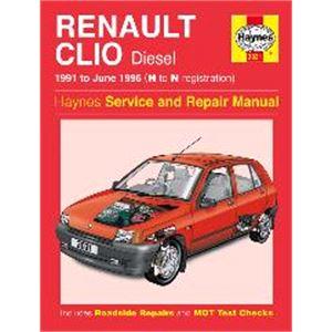Haynes DIY Workshop Manuals, Renault Clio Haynes Manual,  Diesel (91 - June 96), Haynes