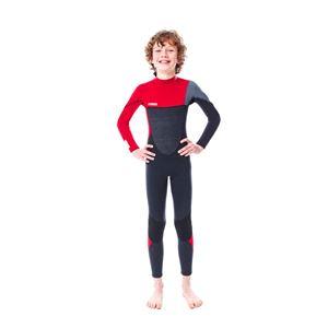 Wetsuits, Jobe Boston 3 2mm Wetsuit Kids Red - Size M, JOBE