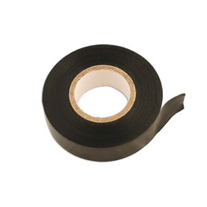 Tapes, Connect 30373 PVC Insulation Tape - Black - 19mm x 20m - Pack Of 10, CONNECT