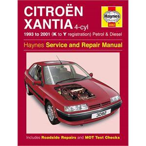 Haynes DIY Workshop Manuals, CITROEN XANTIA PETROL & DIESEL 93-2, Haynes