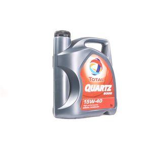 TOTAL Quartz 5000 15w40 Multigrade Mineral Engine Oil. 5 Litre