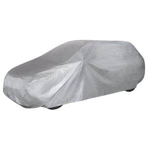 Car Covers, Car Tarpaulin All Weather Light Station Wagon Full Garage (Size M) - Light Grey, Walser