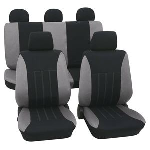 Grey U0026 Black Car Seat Covers For Mazda 6 Up To 2008