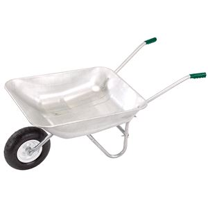 Waste Collection, Composting and Tidying, Draper 31619 Galvanised Wheelbarrow (65L), Draper