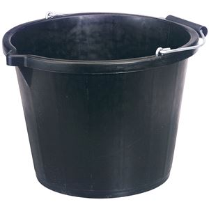 Buckets, Draper 31687 Bucket - Black (14.8L), Draper