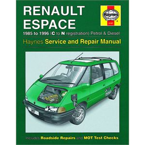 Haynes DIY Workshop Manuals, RENAULT ESPACE, Haynes