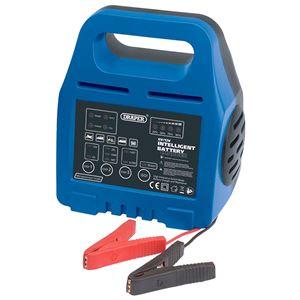 Battery Charger, Draper 33861 6-12V Intelligent Battery Charger, Draper