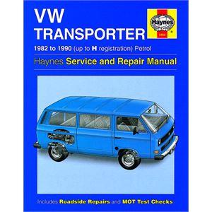 Haynes DIY Workshop Manuals, Haynes VW Transporter (water-cooled) Petrol (82 - 90) up to H Reg, Haynes