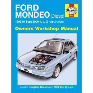 Haynes DIY Workshop Manuals, FORD MONDEO DIESEL 93 - SEPT 00, Haynes