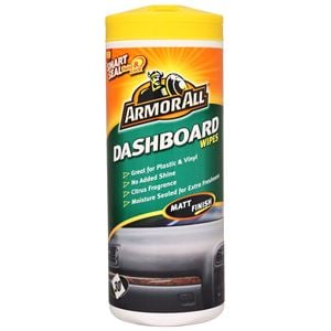 Dash, Rubber and Plastics, ArmorAll® Dashboard Wipes (Matt Finish) - Tub of 30, ARMORALL
