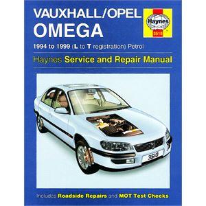 Haynes DIY Workshop Manuals, VAUXHALL / OPEL OMEGA 94 - ONWARDS, Haynes