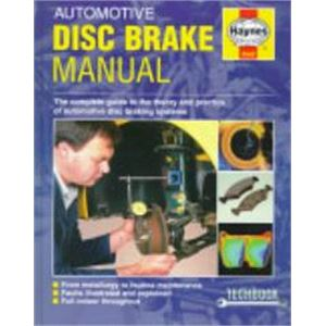 Haynes DIY Workshop Manuals, Haynes Manual - Automotive Disc Brake, Haynes