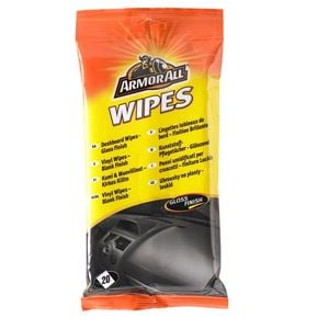 Dash, Rubber and Plastics, ArmorAll® Dashboard Wipes (Gloss Finish) - Pack of 20, ARMORALL