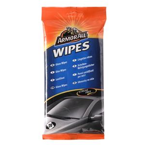Glass Care, Armorall Glass Wipes - Pack Of 20, ARMORALL