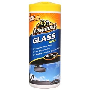 Glass Care, Armorall Glass Wipes - Tub Of 30, ARMORALL