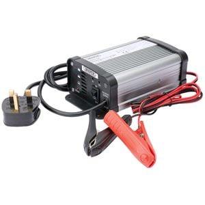 Battery Charger, Draper 38254 6-12V 6A Intelligent Battery Charger, Draper