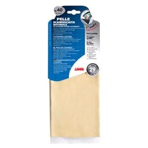 Cloths, Sponges and Wadding, Natural chamois leather - 40 - 43x68 cm, Lampa